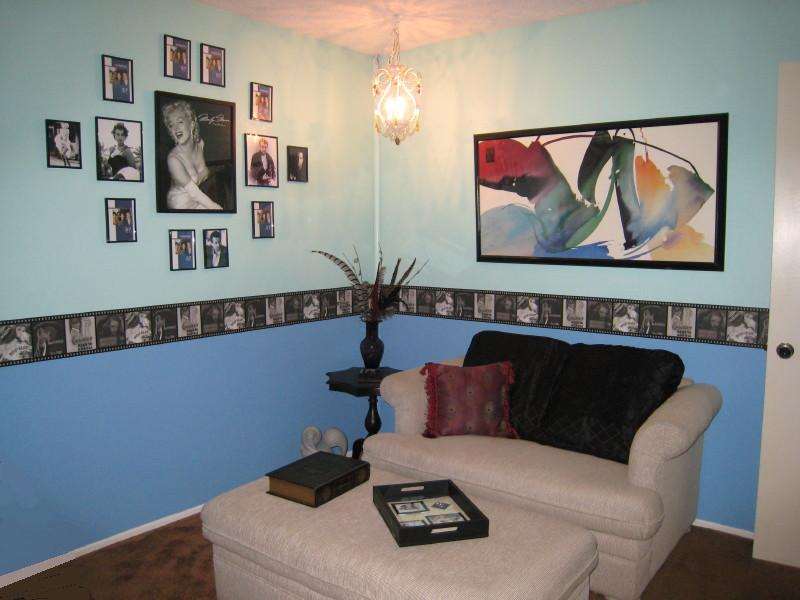 Hollywood Room, Interior Design, Guest Bedroom