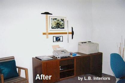 After Home Staging, Home Staging Thousand Oaks, Home Staging, Custom  Art, LB Interiors,